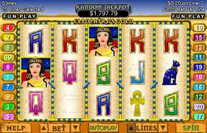 real slots online cleopatra bilder