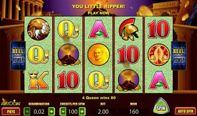 free slot games pompeii