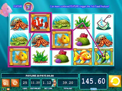 Goldfish slots game